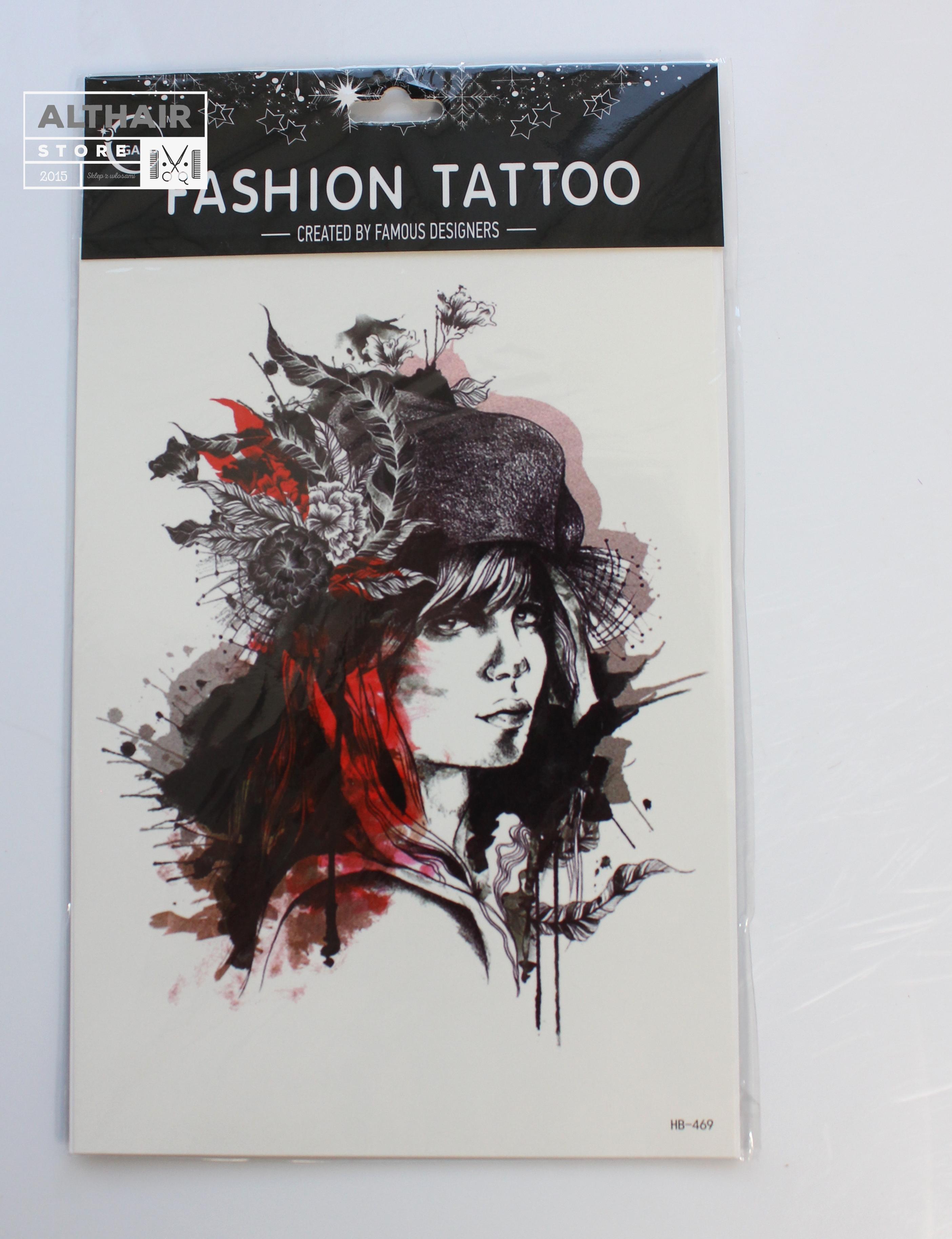 Tatuaże Tymczasowe Tattoo 3d Super Jakość 20x15